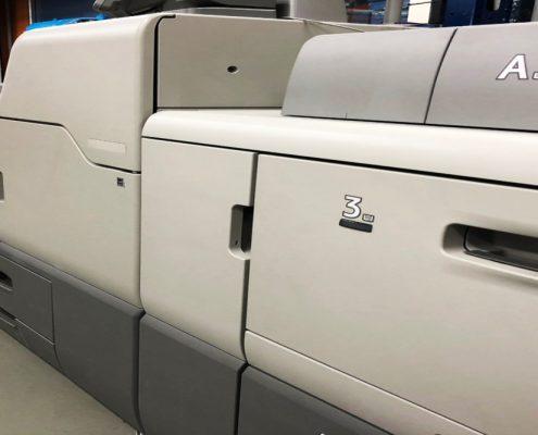 màquina impressió digital